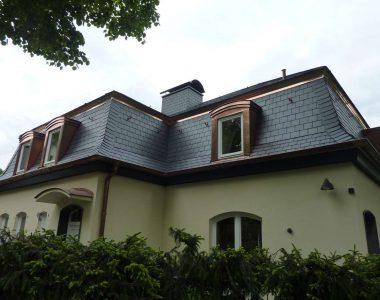 Bild 009 – Spanischer Dachschiefer Rechteckdoppeldeckung