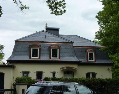 Bild 11 – Spanischer Dachschiefer Rechteckdoppeldeckung