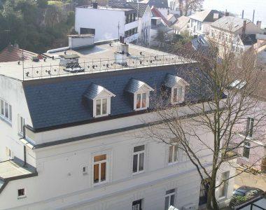 Bild 15 – Spanischer Dachschiefer Rechteckdoppeldeckung