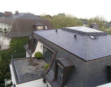 Bild 21 – Spanischer Dachschiefer Rechteckdoppeldeckung