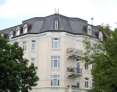 Bild 22 – Spanischer Dachschiefer Rechteckdoppeldeckung