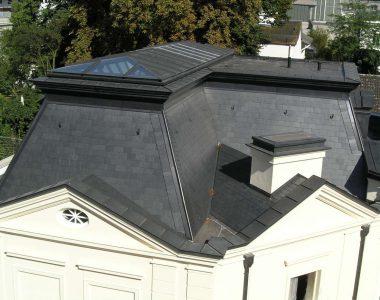 Bild 23 – Spanischer Dachschiefer Rechteckdoppeldeckung