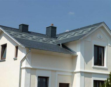 Bild 24 – Spanischer Dachschiefer Rechteckdoppeldeckung