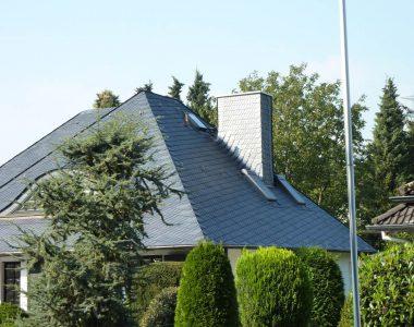 Bild 046 – Spanischer Dachschiefer Schuppendeckung
