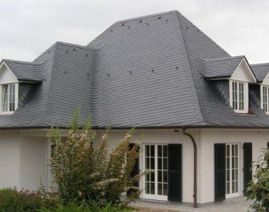 Bild 052 – Spanischer Dachschiefer Schuppendeckung