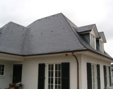 Bild 054 – Spanischer Dachschiefer Schuppendeckung