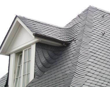 Bild 055 – Spanischer Dachschiefer Schuppendeckung