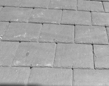 Bild 8 Walisischer Dachschiefer blaugrau